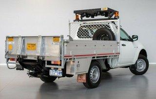 2011 Mitsubishi Triton MN MY11 GLX 4x2 White 4 Speed Automatic Cab Chassis.