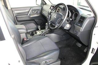 2016 Mitsubishi Pajero NX MY16 GLS White 5 Speed Sports Automatic Wagon