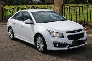 2015 Holden Cruze JH MY15 SRi White 6 Speed Automatic Sedan.