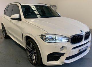 2015 BMW X5 M F85 Steptronic White 8 Speed Sports Automatic Wagon.