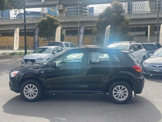 2012 Mitsubishi ASX XA MY12 2WD Black 6 Speed Constant Variable Wagon.