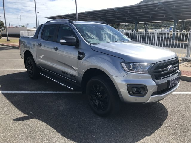 Used Ford Ranger PX MkIII 2021.25MY Wildtrak Townsville, 2021 Ford Ranger PX MkIII 2021.25MY Wildtrak Aluminium Silver 6 Speed Sports Automatic