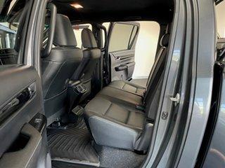 2018 Toyota Hilux GUN126R Rugged X Double Cab Grey 6 Speed Manual Utility