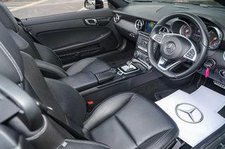 2018 Mercedes-Benz SLC-Class R172 809MY SLC180 9G-Tronic Obsidian Black 9 Speed Sports Automatic.