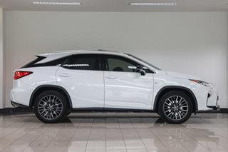 2017 Lexus RX GGL25R RX350 F Sport White Nova 8 Speed Sports Automatic Wagon