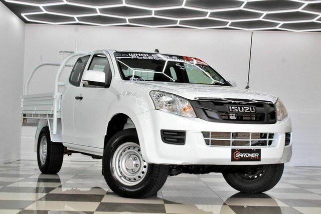 Used Isuzu D-MAX TF MY15 SX (4x4) Burleigh Heads, 2015 Isuzu D-MAX TF MY15 SX (4x4) White 5 Speed Automatic Space Cab Chassis