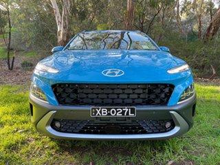 2021 Hyundai Kona Os.v4 MY21 Highlander SRF (FWD) Dive in Jeju Continuous Variable Wagon