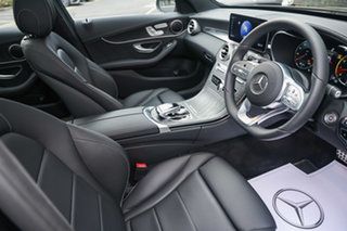 2020 Mercedes-Benz C-Class W205 800+050MY C200 9G-Tronic Obsidian Black 9 Speed Sports Automatic.