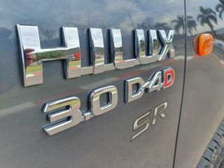 2014 Toyota Hilux KUN26R MY14 SR Galactic Grey 5 Speed Manual Cab Chassis