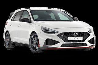 2021 Hyundai i30 PDe.V4 N Premium Polar White 8 Speed Automatic Hatchback