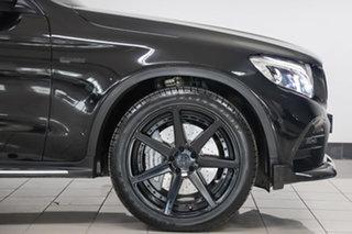 2017 Mercedes-Benz GLC-Class X253 GLC43 AMG 9G-Tronic 4MATIC Obsidian Black 9 Speed Sports Automatic