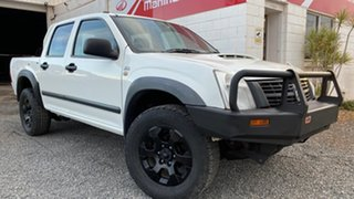 2007 Holden Rodeo RA MY07 LX (4x4) White 5 Speed Manual Dual Cab.