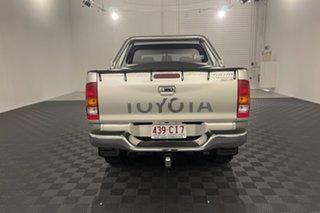 2008 Toyota Hilux KUN26R MY08 SR5 Silver 5 speed Manual Utility