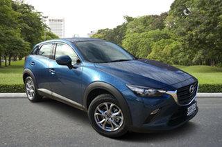 2021 Mazda CX-3 DK2W7A Maxx SKYACTIV-Drive FWD Sport Eternal Blue 6 Speed Sports Automatic Wagon.