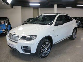 2012 BMW X6 E71 MY12 xDrive30d Coupe Steptronic White 8 Speed Sports Automatic Wagon.