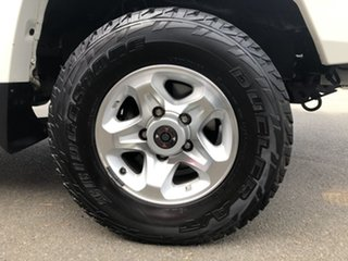 2017 Toyota Landcruiser VDJ79R GXL (4x4) French Vanilla 5 Speed Manual Double Cab Chassis