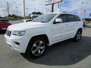 2013 Jeep Grand Cherokee WK MY2013 Overland White 6 Speed Sports Automatic Wagon.