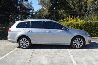 2014 Volkswagen Golf VII MY15 103TSI DSG Highline Silver, Chrome 7 Speed