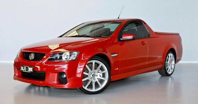 Used Holden Ute VE II SS Thomastown, 2011 Holden Ute VE II SS Red 6 Speed Manual Utility