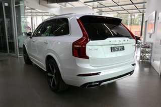 2018 Volvo XC90 L Series MY18 T6 Geartronic AWD R-Design White 8 Speed Sports Automatic Wagon