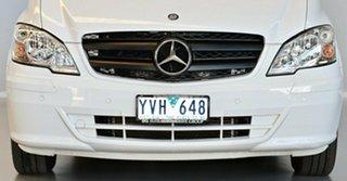 2012 Mercedes-Benz Vito 639 MY11 113CDI White 5 Speed Automatic Wagon