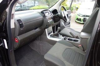 2013 Nissan Navara D40 S6 MY12 ST Black 6 Speed Manual Utility