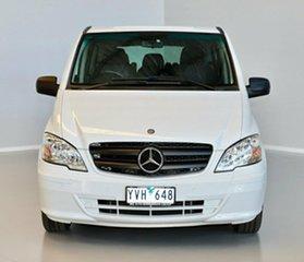 2012 Mercedes-Benz Vito 639 MY11 113CDI White 5 Speed Automatic Wagon.