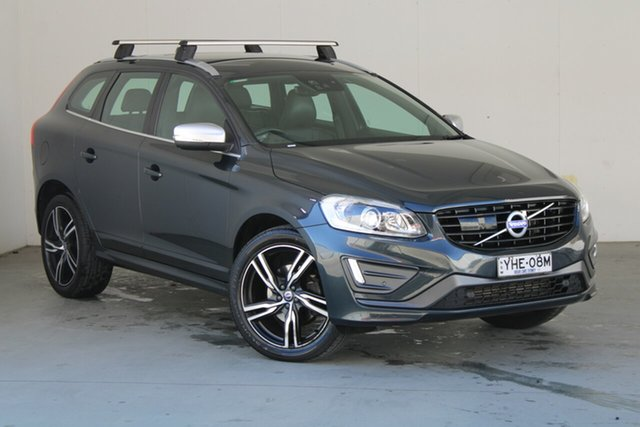 Used Volvo XC60 DZ MY17 T5 Geartronic AWD R-Design Phillip, 2017 Volvo XC60 DZ MY17 T5 Geartronic AWD R-Design Grey 8 Speed Sports Automatic Wagon