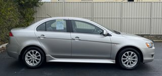 2013 Mitsubishi Lancer CJ MY13 LX Silver 6 Speed Constant Variable Sedan.