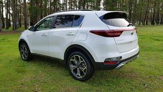 2021 Kia Sportage QL MY21 GT-Line AWD Snow White Pearl 6 Speed Automatic Wagon