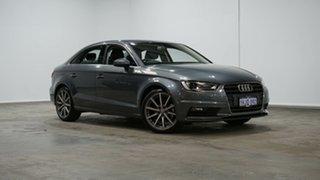 2015 Audi A3 8V MY15 Ambition S Tronic Grey 6 Speed Sports Automatic Dual Clutch Sedan.