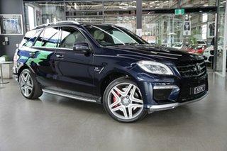 2013 Mercedes-Benz M-Class W166 ML63 AMG SPEEDSHIFT DCT Blue 7 Speed Sports Automatic Dual Clutch.