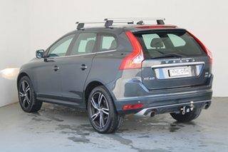 2017 Volvo XC60 DZ MY17 T5 Geartronic AWD R-Design Grey 8 Speed Sports Automatic Wagon.