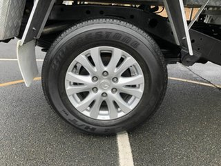 2012 Mazda BT-50 UP0YD1 XT 4x2 Hi-Rider White 6 Speed Sports Automatic Cab Chassis