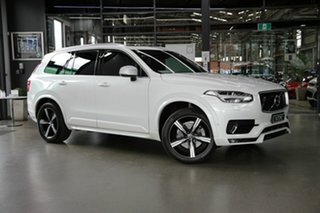 2018 Volvo XC90 L Series MY18 T6 Geartronic AWD R-Design White 8 Speed Sports Automatic Wagon.