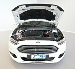 2017 Ford Mondeo MD 2017.00MY Trend White 6 Speed Sports Automatic Hatchback