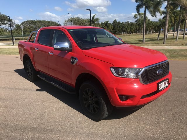 Used Ford Ranger PX MkIII 2021.25MY XLT Townsville, 2021 Ford Ranger PX MkIII 2021.25MY XLT True Red 10 Speed Sports Automatic Double Cab Pick Up