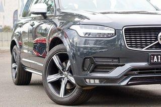 2016 Volvo XC90 L Series MY16 D5 Geartronic AWD R-Design Osmium Grey 8 Speed Sports Automatic Wagon.
