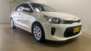 2017 Kia Rio YB MY18 S White 4 Speed Automatic Hatchback.