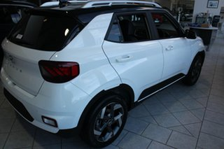 2021 Hyundai Venue QX.V3 MY21 Elite Polar White 6 Speed Automatic Wagon.