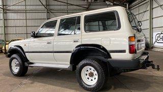 1995 Toyota Landcruiser HZJ80R DX White 5 Speed Manual Wagon