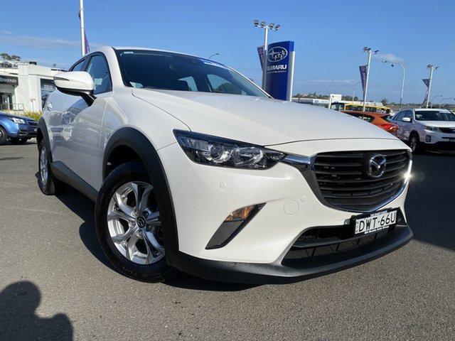 Used Mazda CX-3 DK2W7A Maxx SKYACTIV-Drive Brookvale, 2018 Mazda CX-3 DK2W7A Maxx SKYACTIV-Drive White 6 Speed Sports Automatic Wagon