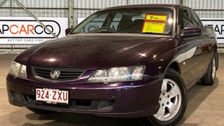 2003 Holden Crewman VY II S Mauve 4 Speed Automatic Utility.