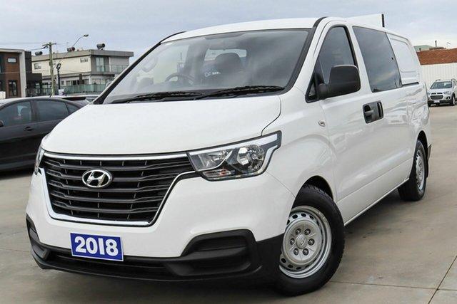 Used Hyundai iLOAD TQ4 MY19 Crew Cab Coburg North, 2018 Hyundai iLOAD TQ4 MY19 Crew Cab White 5 Speed Automatic Van