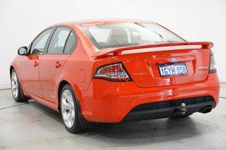 2008 Ford Falcon FG XR6 Turbo Red 6 Speed Sports Automatic Sedan.