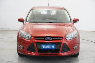 2015 Ford Focus LW MkII MY14 Sport Red 5 Speed Manual Hatchback.