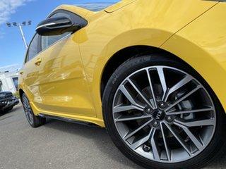 2020 Kia Rio YB MY20 GT-Line DCT Yellow 7 Speed Sports Automatic Dual Clutch Hatchback.