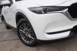 2017 Mazda CX-5 KF2W7A Maxx SKYACTIV-Drive FWD Sport White 6 Speed Sports Automatic Wagon.