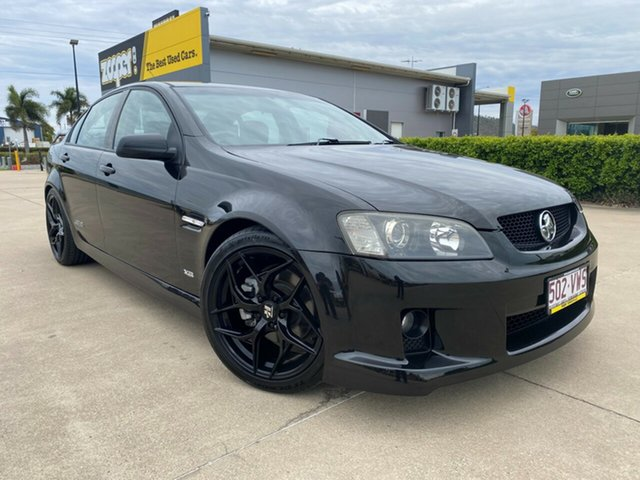 Used Holden Commodore VE SS V Townsville, 2006 Holden Commodore VE SS V Black 6 Speed Sports Automatic Sedan