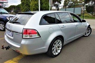 2010 Holden Calais VE MY10 V Sportwagon Silver 6 Speed Sports Automatic Wagon.